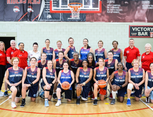 CCL and Team GB Women's Masters Basketball Connecting Winning Global Teams