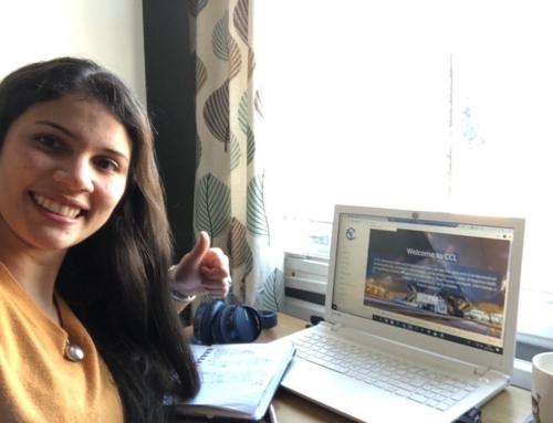 CCL the working from home challenge #wfhselfiechallenge